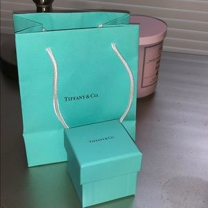 Tiffany box and bag